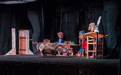 Der große Streit | Marionettentheater Wiesloch